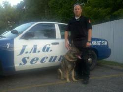 J.A.G Security Now Adding K-9 Patrols to Its Protection Services